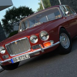 Jaguar XJ6 (1972) 3d model 3ds max fbx c4d obj