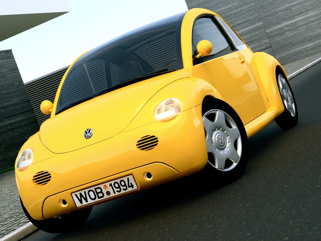 vw concept 1 (1994) 3d model 3ds max fbx c4d obj 176220