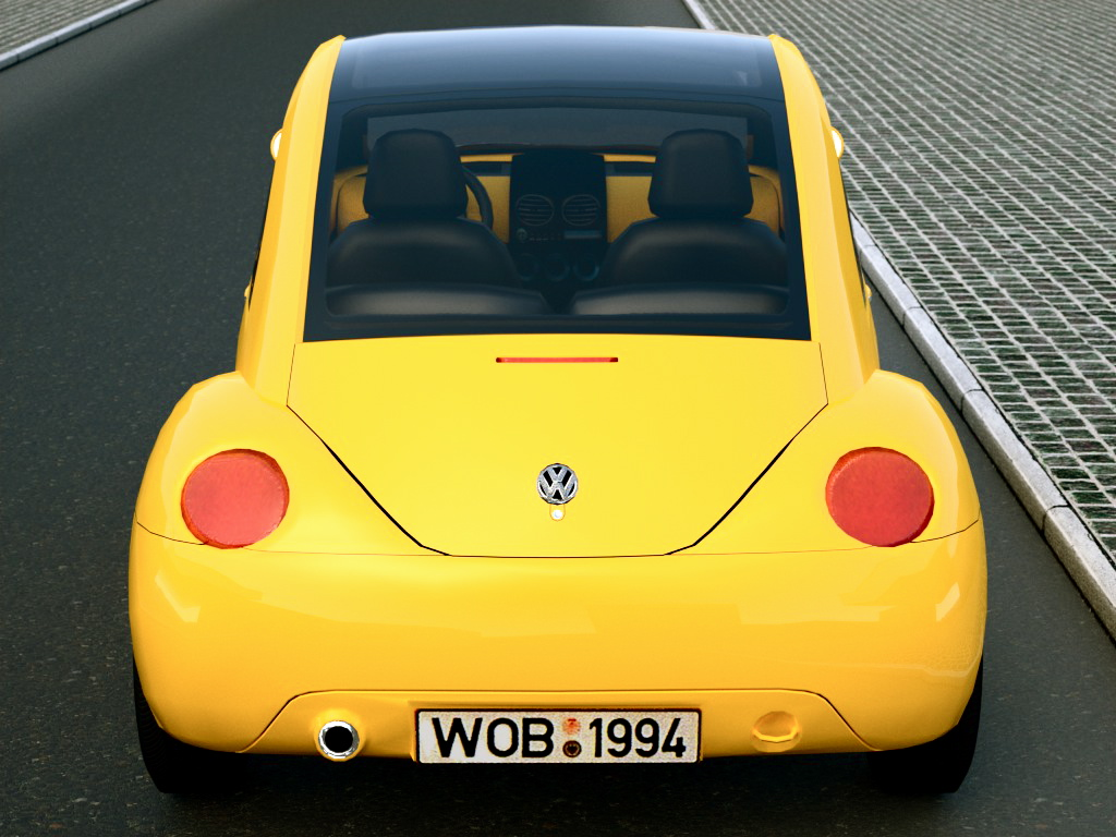 vw concept 1 (1994) 3d model 3ds max fbx c4d obj 176227