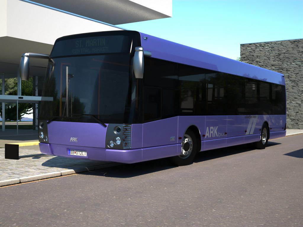 arkbus 12 prigradski model 3d 3ds max fbx c4d obj 179747