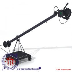 jimmy jib 3d model 0