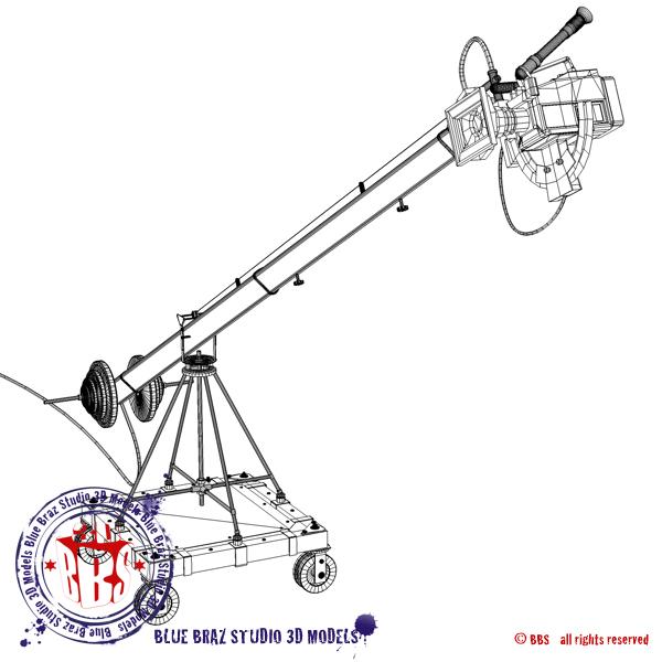 jimmy jib 3d modelis 3ds dxf fbx c4d dae obj 179969
