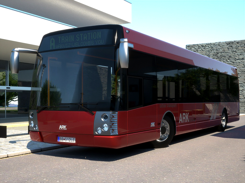 arkbus 12 model 3d 3ds max fbx c4d obj 180243