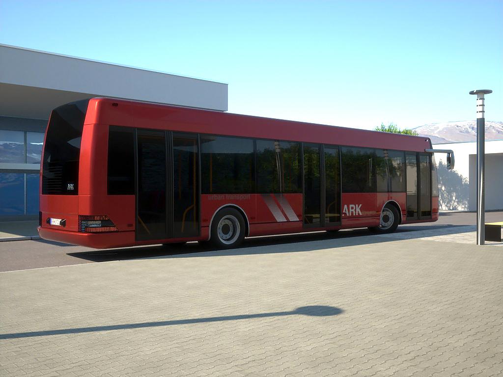 arkbus 12 3d model 3ds max fbx c4d obj 180244