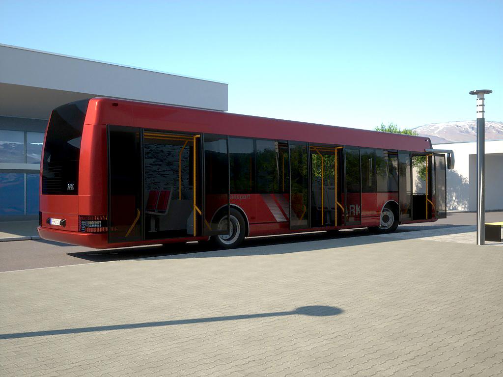 arkbus 12 3d model 3ds max fbx c4d obj 180245