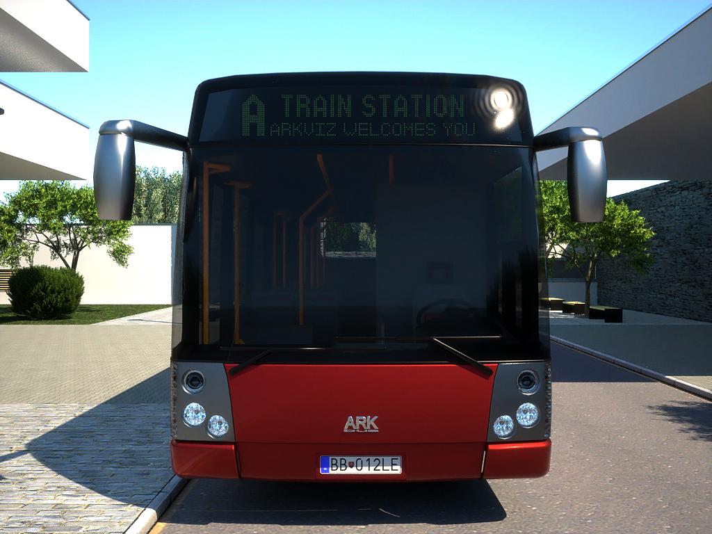 arkbus 12 3d model 3ds max fbx c4d obj 180246