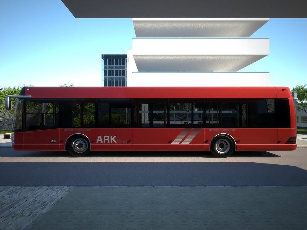 arkbus 12 3d model 3ds max fbx c4d obj 180247