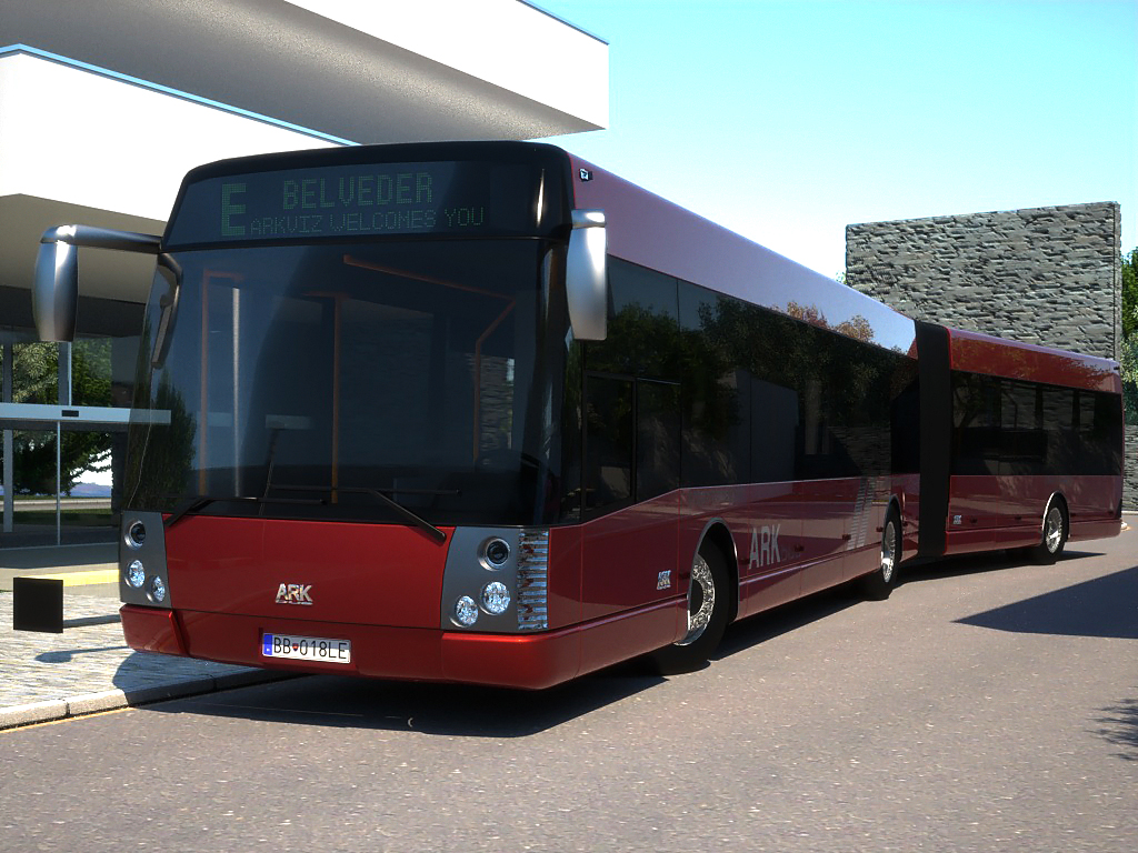 arkbus 18 3d model 3ds max fbx c4d obj 180255