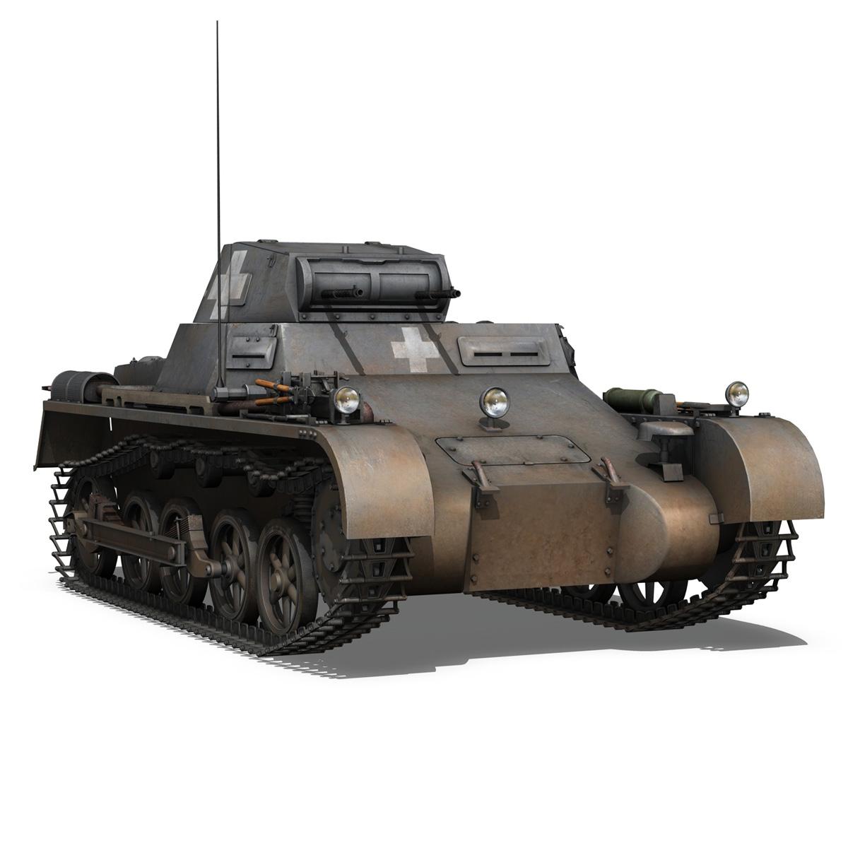 pzkpfw 1 – panzer 1 – ausf. a – 22 3d model 3ds fbx c4d lwo obj 186932