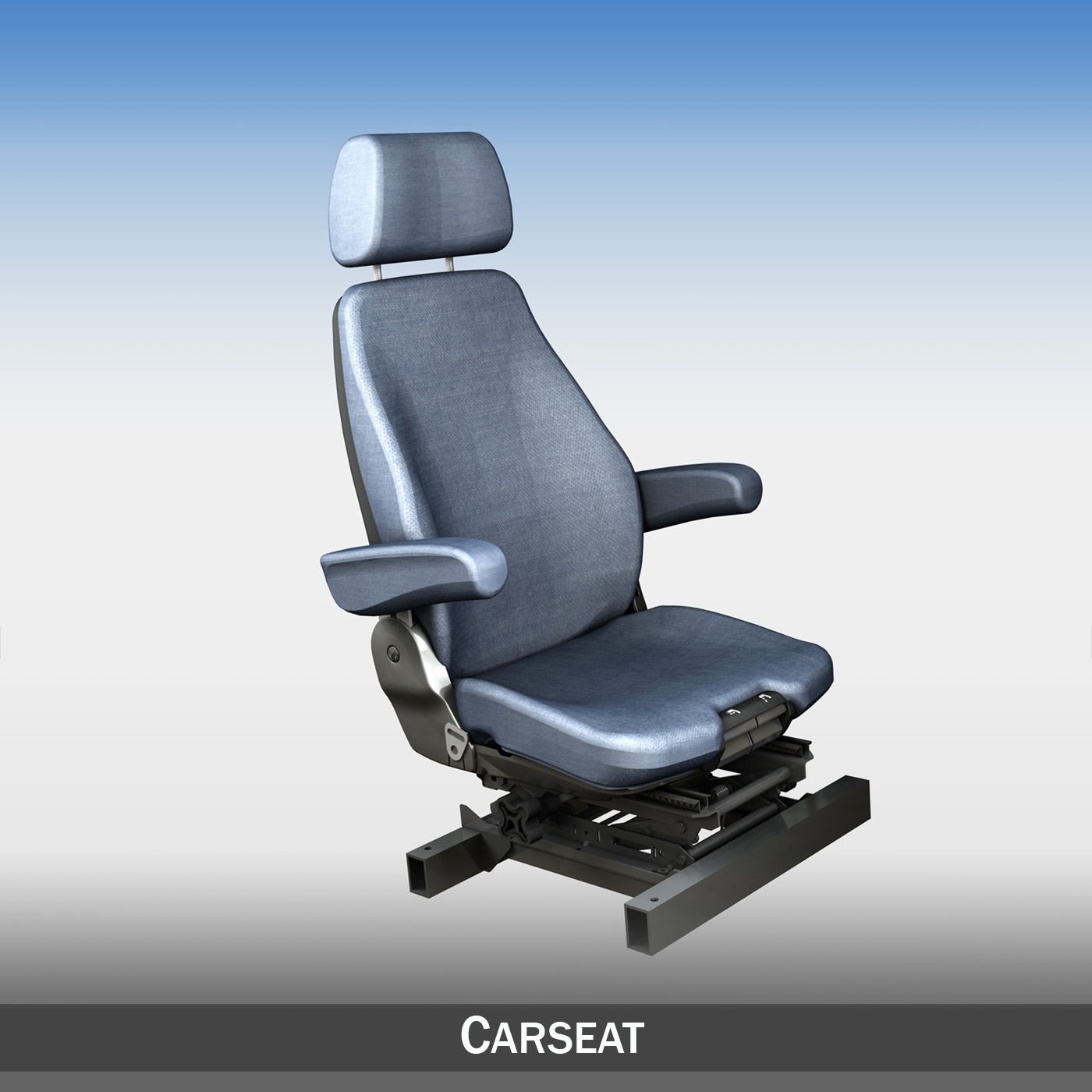 car seat with attachment 3d model 3ds fbx c4d lwo obj 187230