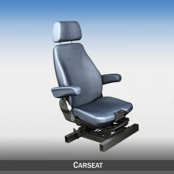 Car Seat witch attachment 3d model 0