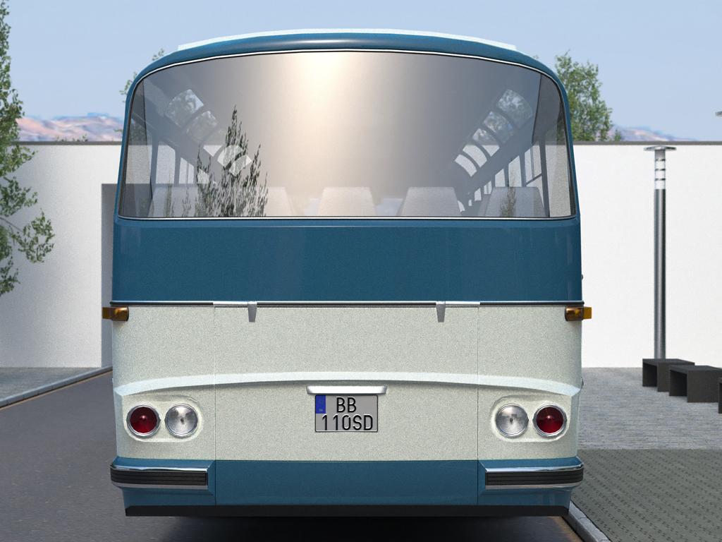 karosa sd11 (1965) 3d model 3ds max fbx c4d obj 187249