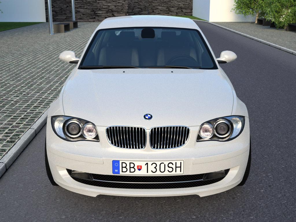 e81 1 röð 3 dyr (2009) 3d líkan 3ds max fbx c4d obj 187428