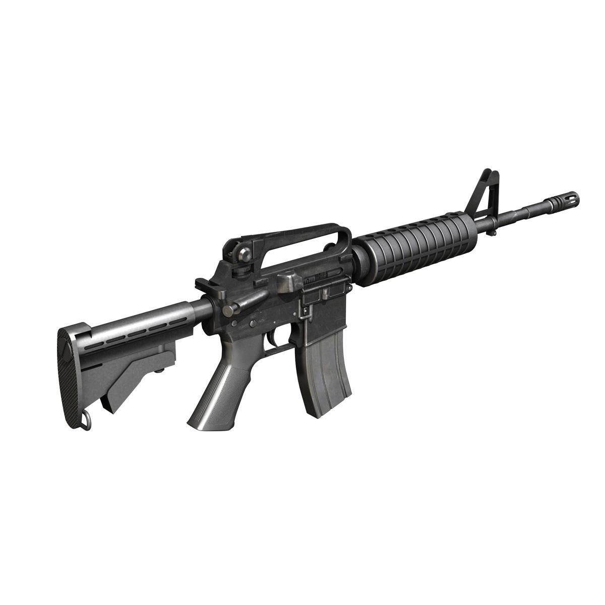colt m4a1 carbine довтолгооны буу 3d загвар 3ds fbx c4d lwo obj 187790