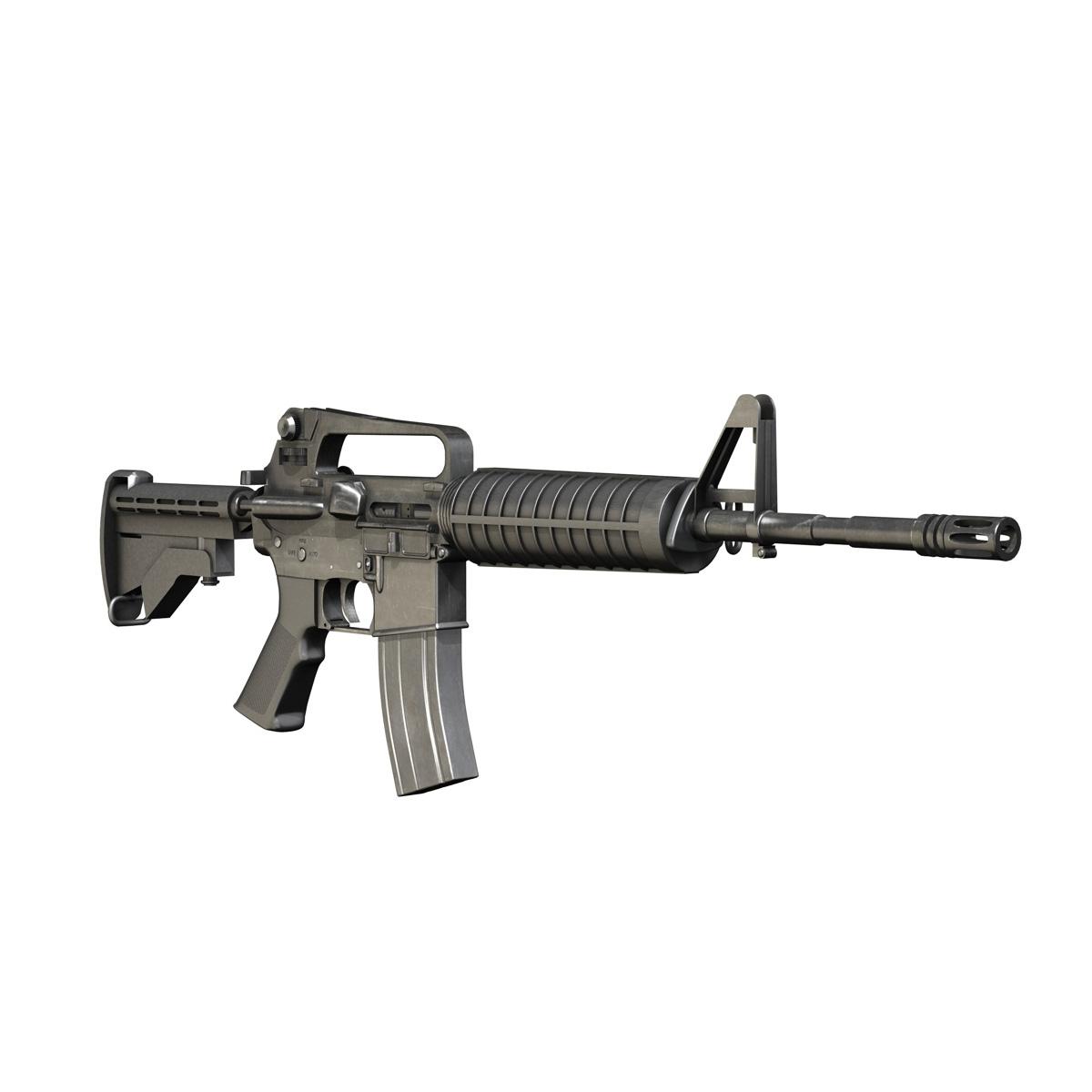 colt m4a1 carbine довтолгооны буу 3d загвар 3ds fbx c4d lwo obj 187791