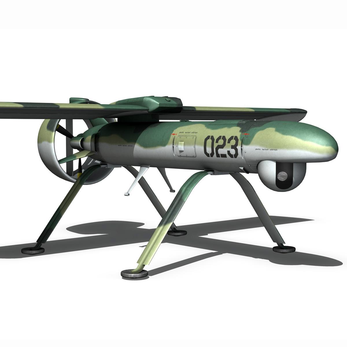pchela 1t drone orosz uav 3d modell 3ds fbx c4d lwo obj 188462