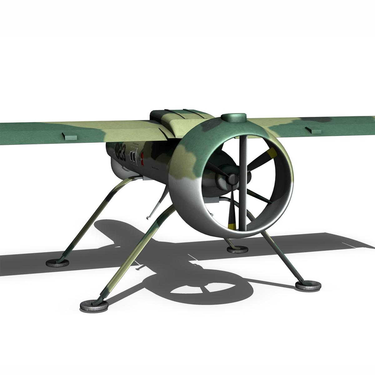pchela 1t drone orosz uav 3d modell 3ds fbx c4d lwo obj 188463