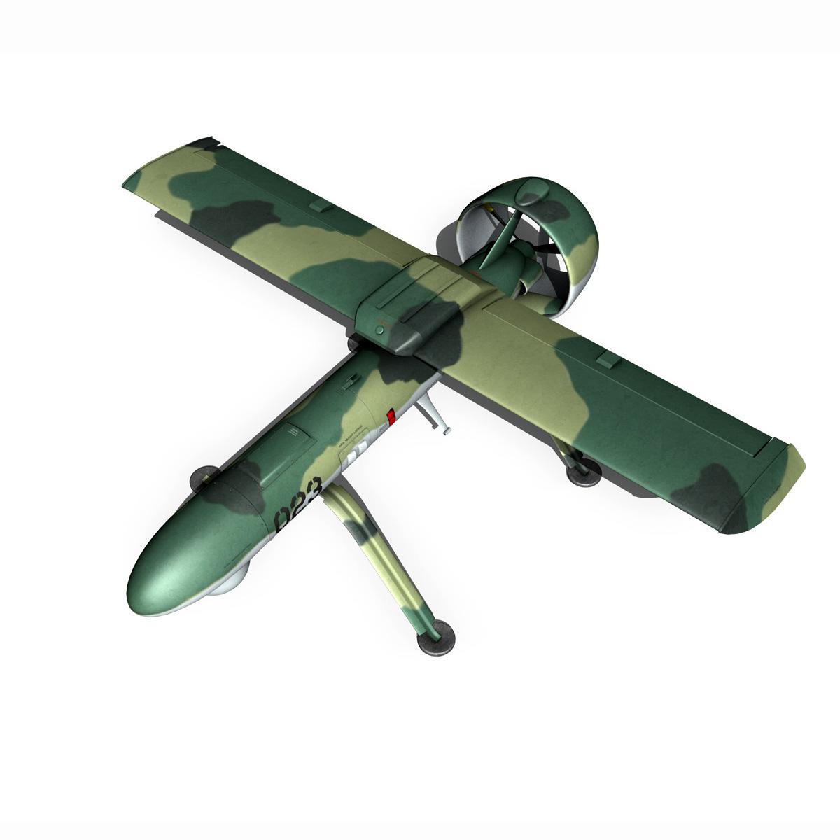 pchela 1t drone orosz uav 3d modell 3ds fbx c4d lwo obj 188464