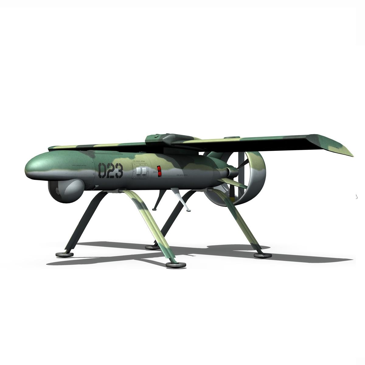 pchela 1t drone orosz uav 3d modell 3ds fbx c4d lwo obj 188465