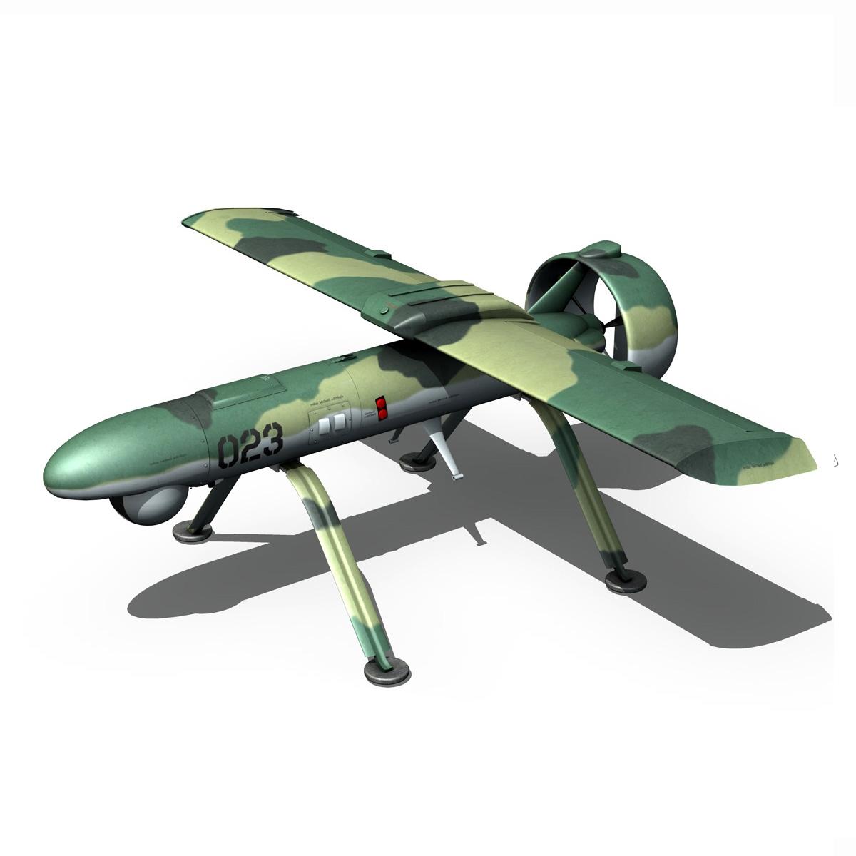pchela 1t drone orosz uav 3d modell 3ds fbx c4d lwo obj 188466