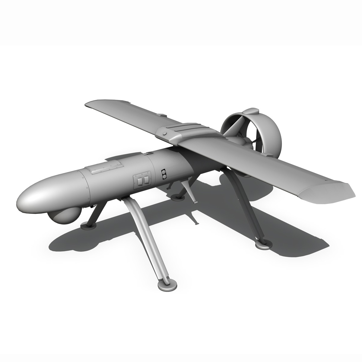 pchela 1t drone orosz uav 3d modell 3ds fbx c4d lwo obj 188468