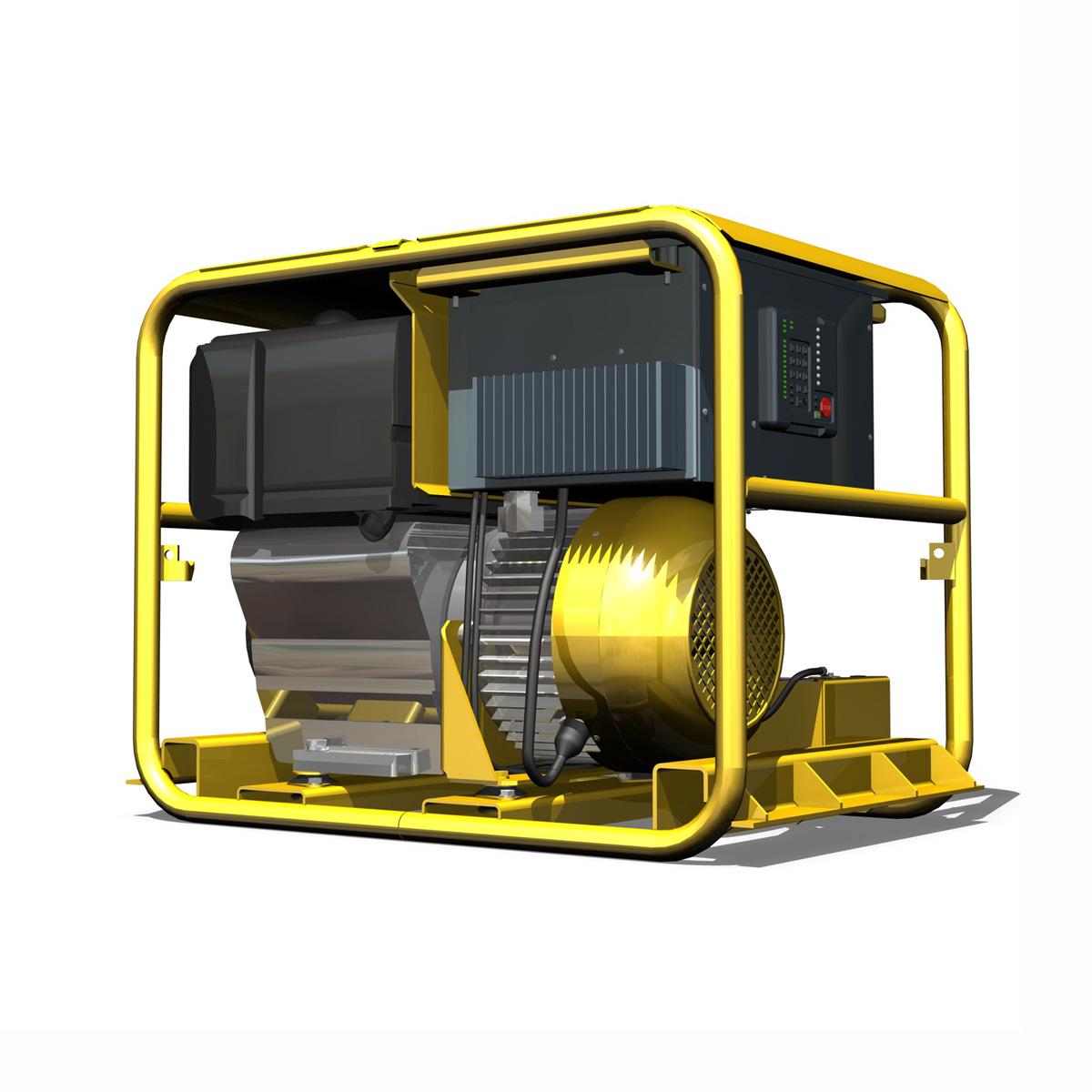 diesel generator 3d model 3ds fbx c4d lwo obj 188589