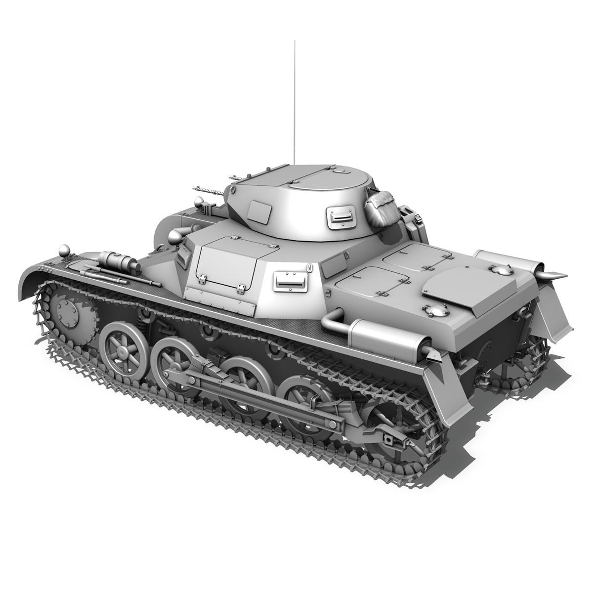 sd.kfz 101 pzkpfw 1 ausfuehrung a 3d model 3ds fbx c4d lwo obj 188868
