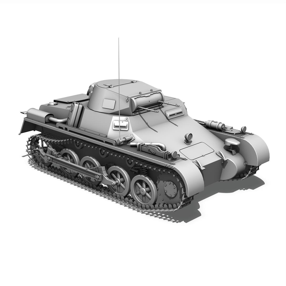 sd.kfz 101 pzkpfw 1 ausfuehrung a 3d model 3ds fbx c4d lwo obj 188870