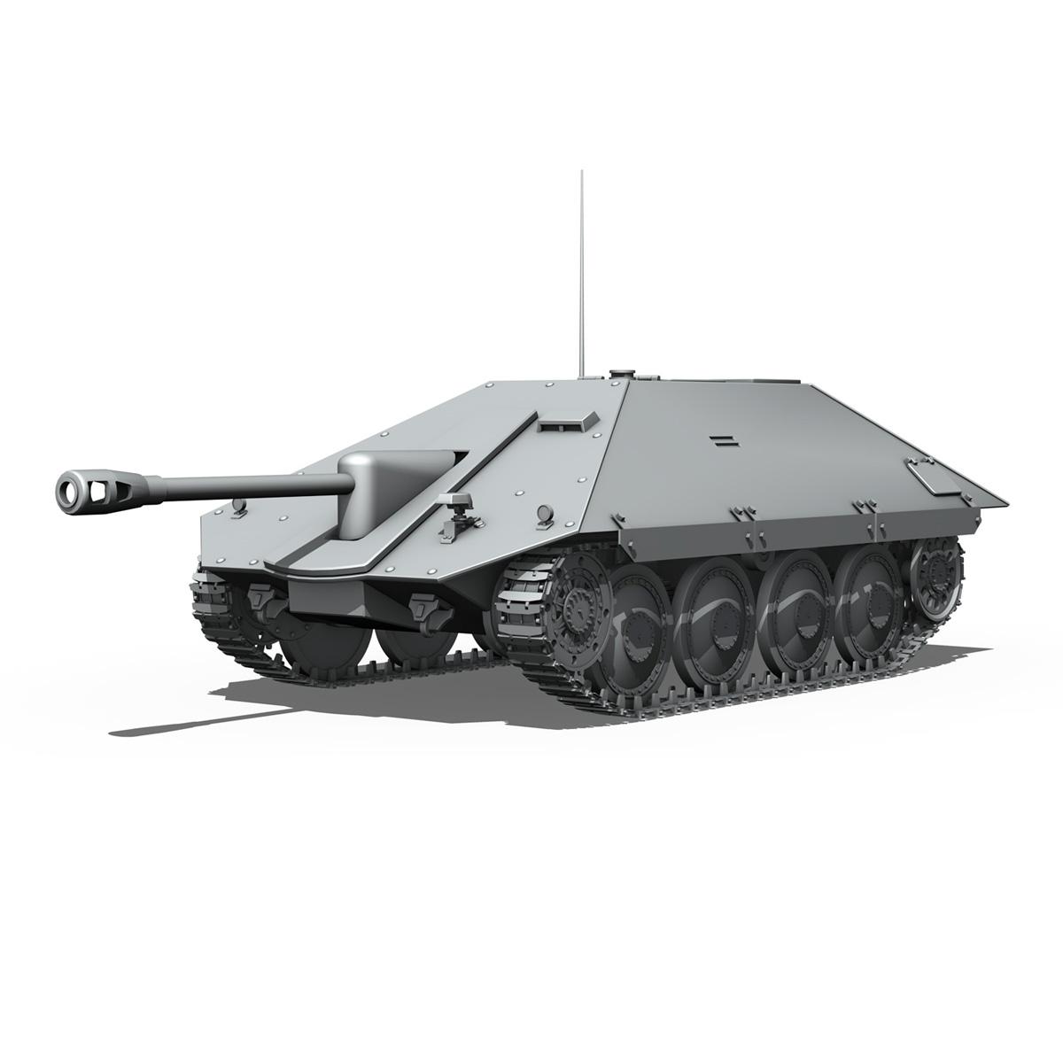 maresal m06 – romanian tank destroyer 3d model 3ds fbx c4d lwo obj 188888