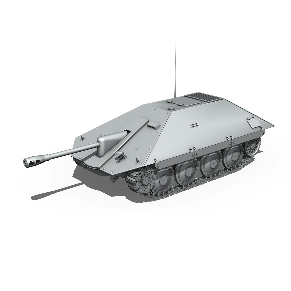 maresal m06 – romanian tank destroyer 3d model 3ds fbx c4d lwo obj 188889