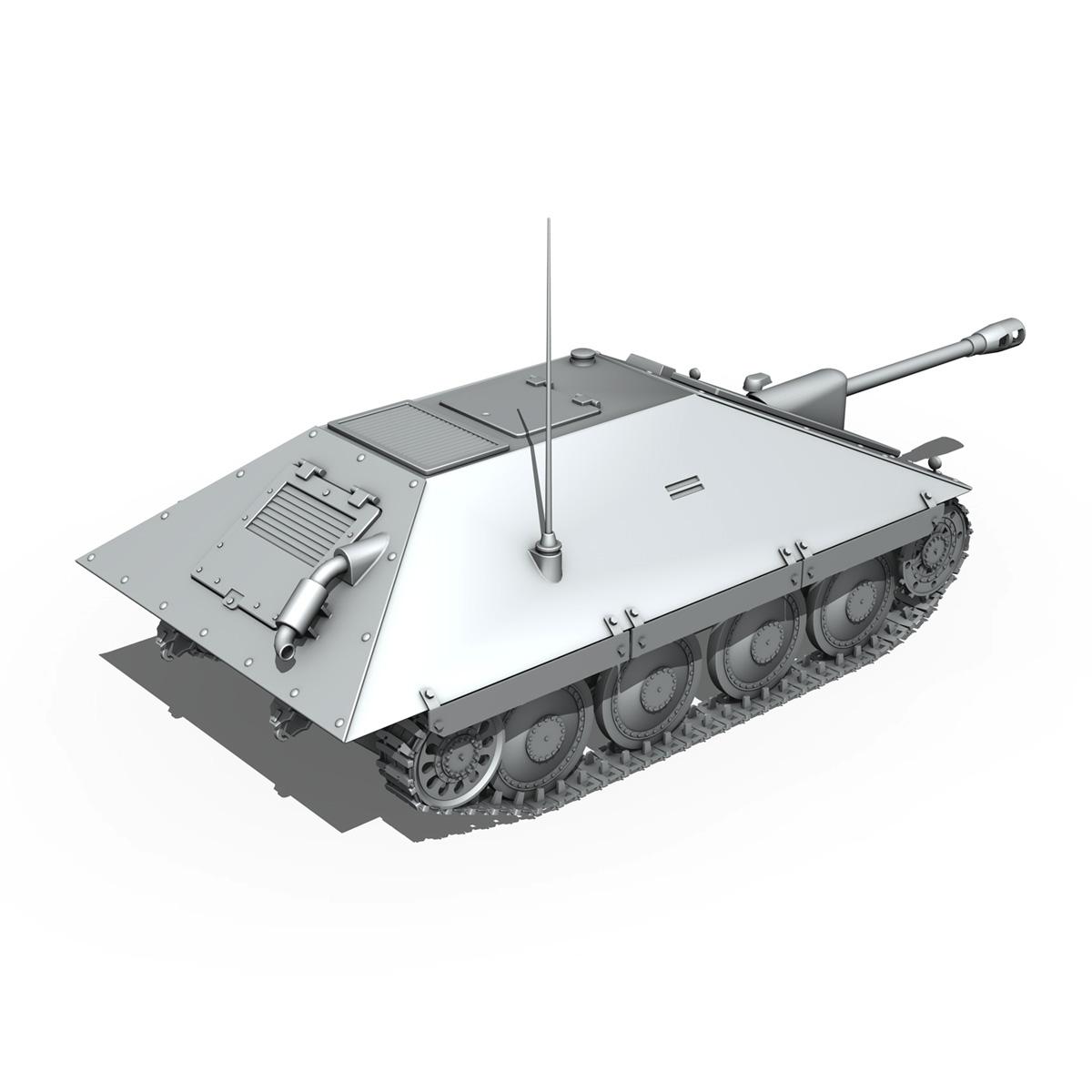 maresal m06 – romanian tank destroyer 3d model 3ds fbx c4d lwo obj 188893