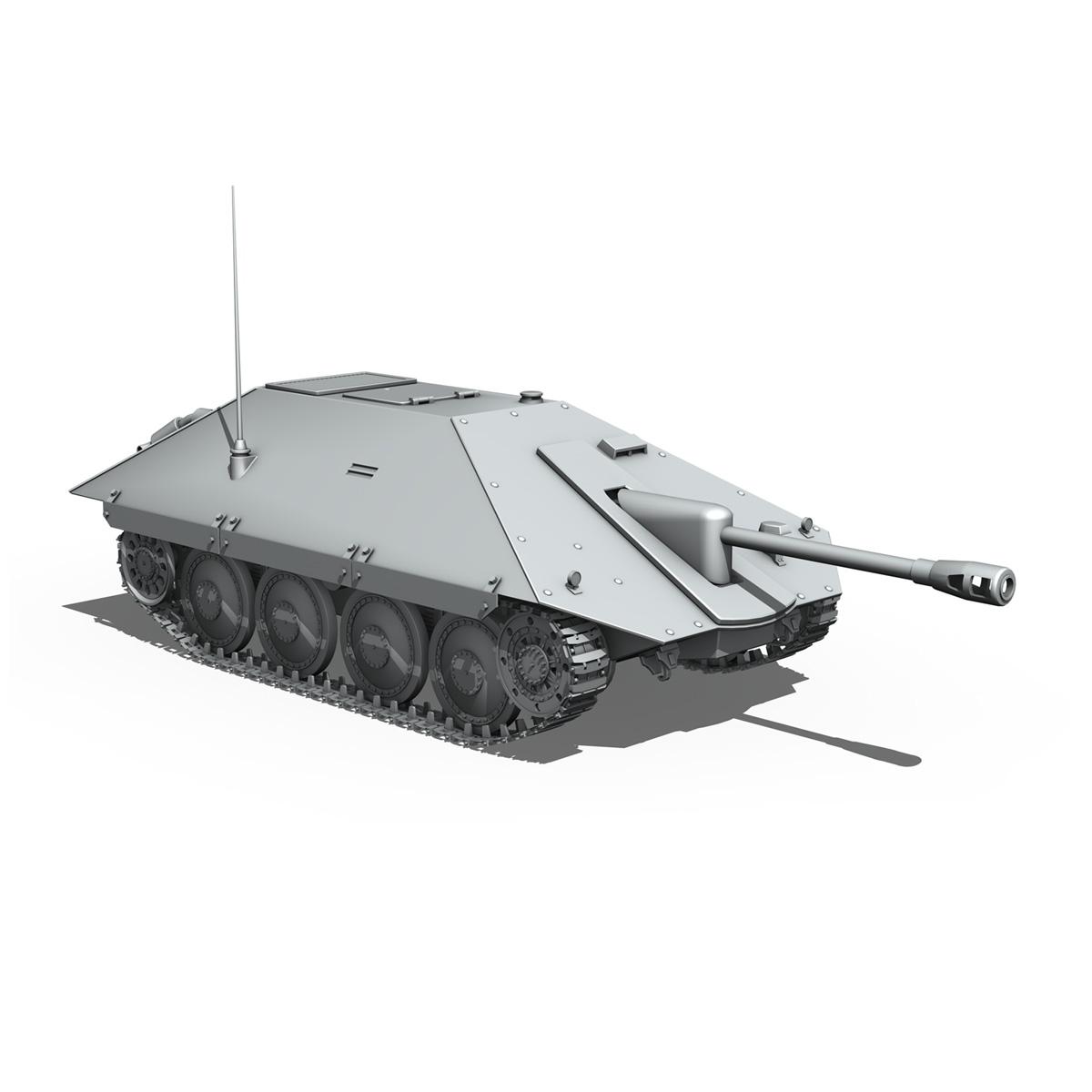 maresal m06 – romanian tank destroyer 3d model 3ds fbx c4d lwo obj 188894