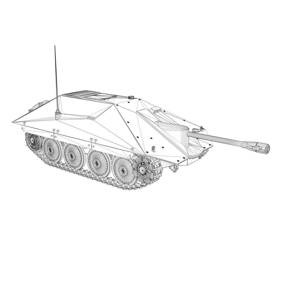 maresal m06 – romanian tank destroyer 3d model 3ds fbx c4d lwo obj 188896