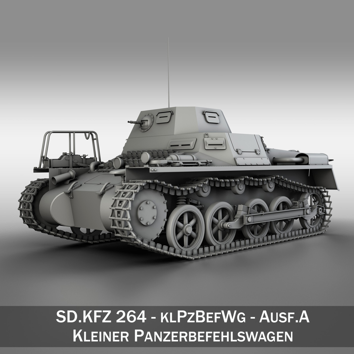 sd.kfz 265 panzerbefehlswagen umar ordaithe 3d model 3ds fbx c4d lwo obj 189057