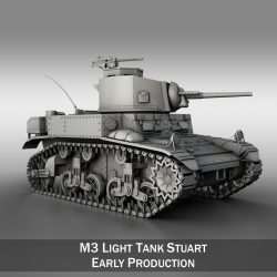 M3 Light Tank Stuart - Early Production ( 260.97KB jpg by Panaristi )