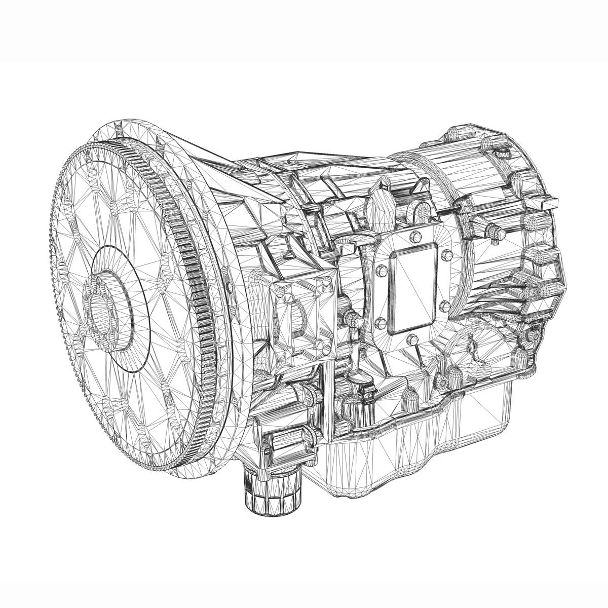 gearing – transmission 3d model 3ds fbx c4d lwo obj 189236