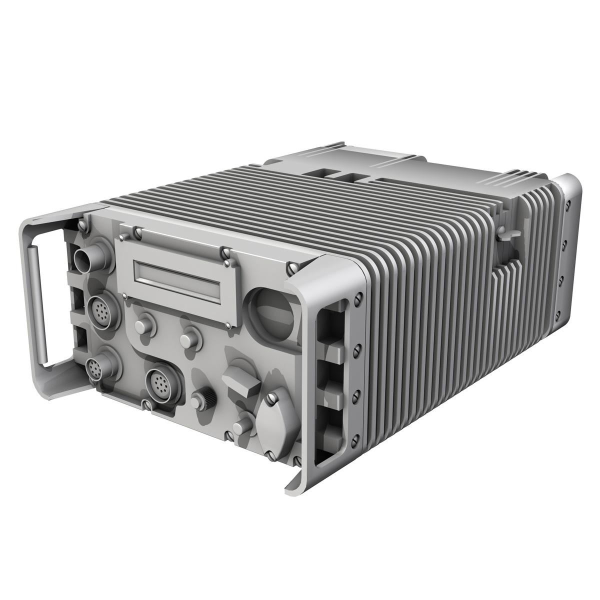 uhf military data radio 3d model 3ds fbx c4d lwo obj 189264