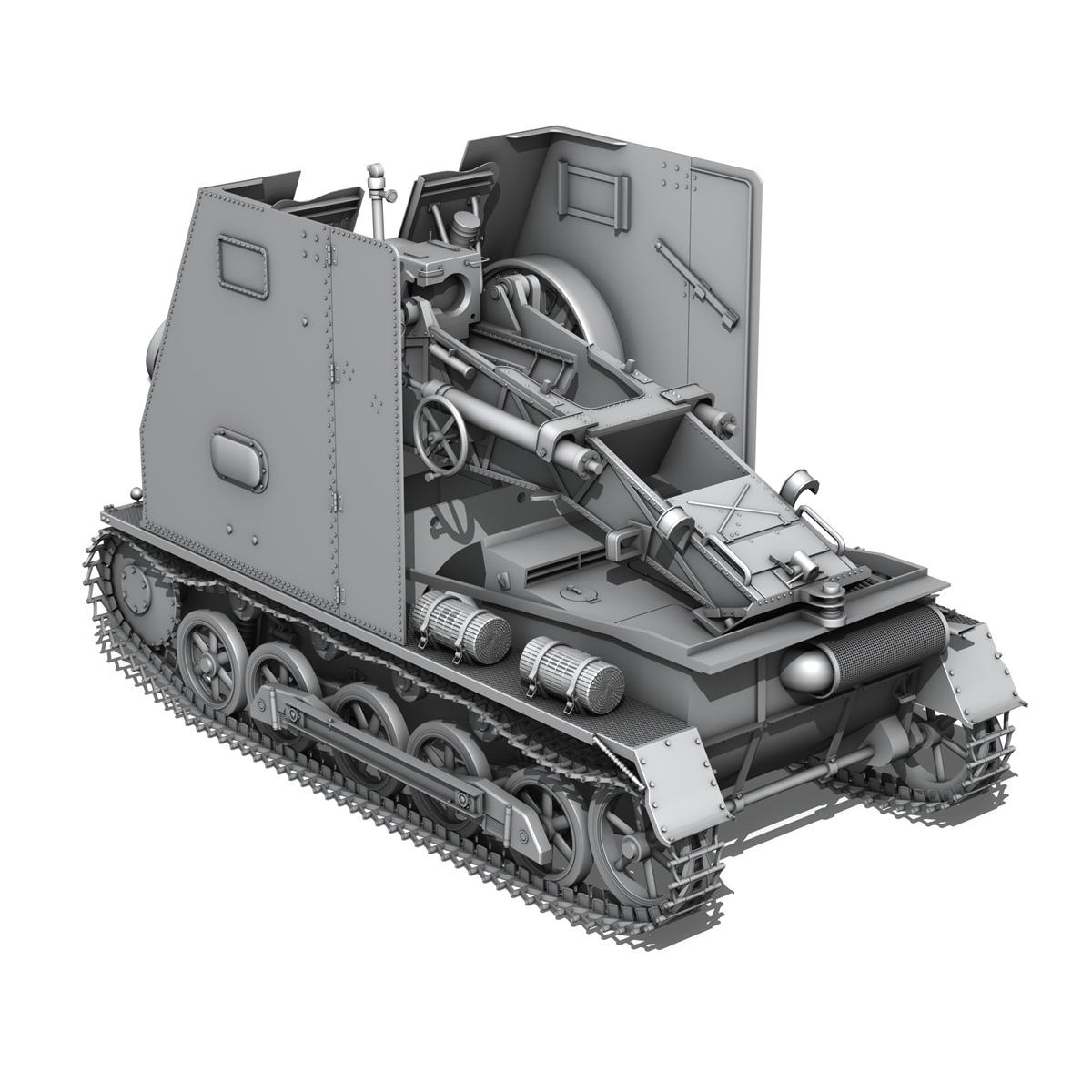 sd.kfz 101 – sturmpanzer 1 – bison 3d model 3ds fbx c4d lwo obj 189273