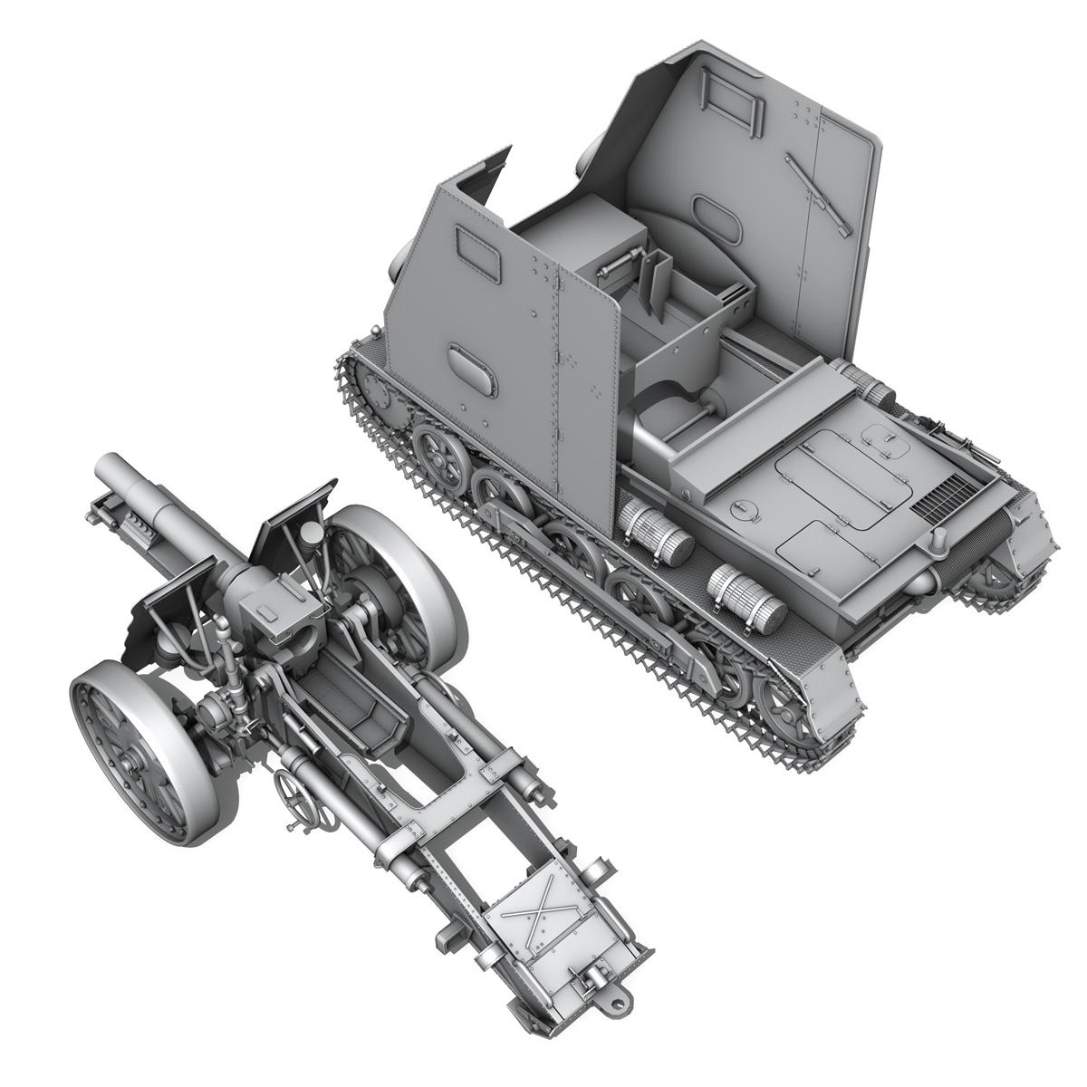 sd.kfz 101 – sturmpanzer 1 – bison 3d model 3ds fbx c4d lwo obj 189277