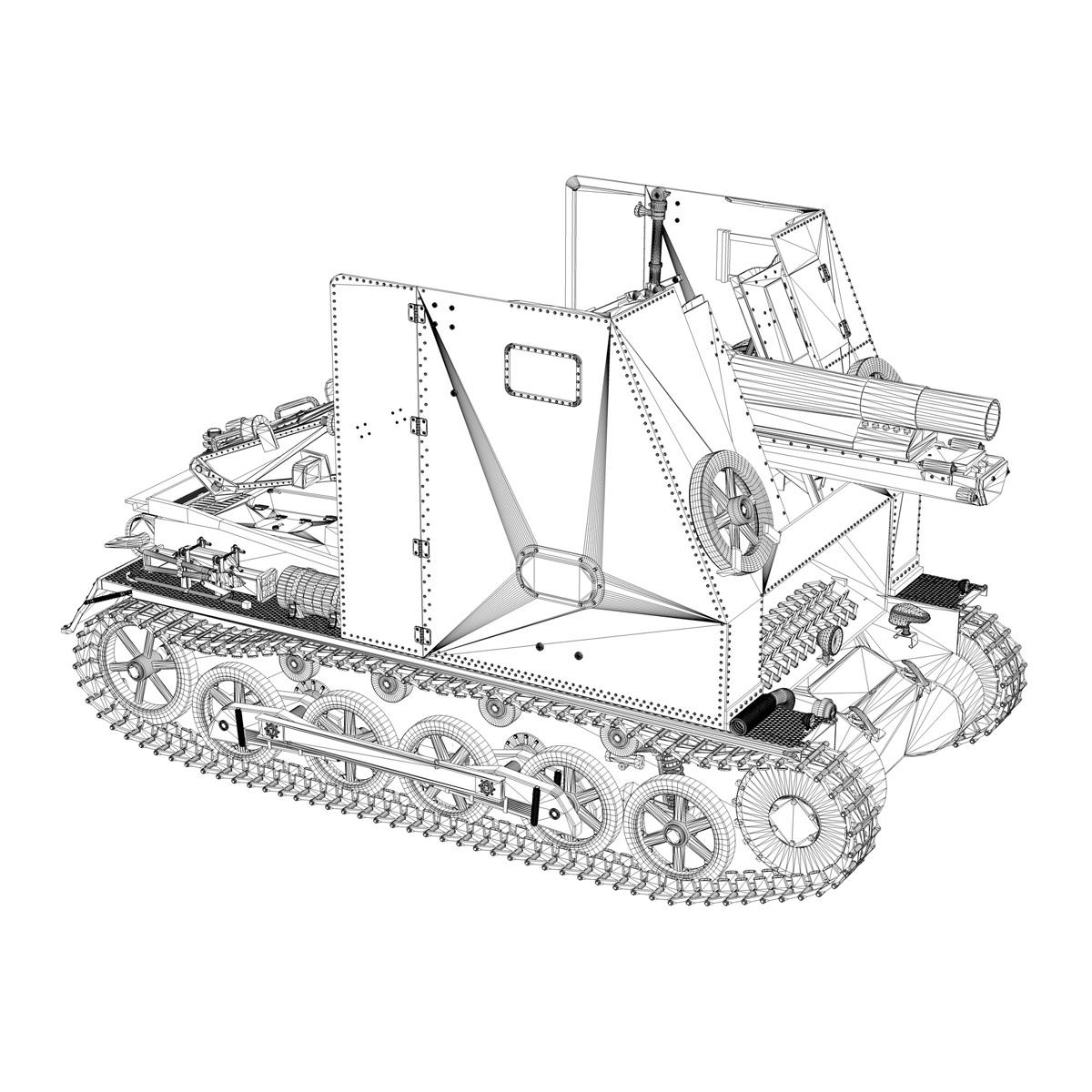 sd.kfz 101 – sturmpanzer 1 – bison 3d model 3ds fbx c4d lwo obj 189280