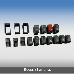 Rocker switches for vehicle 3d model 0