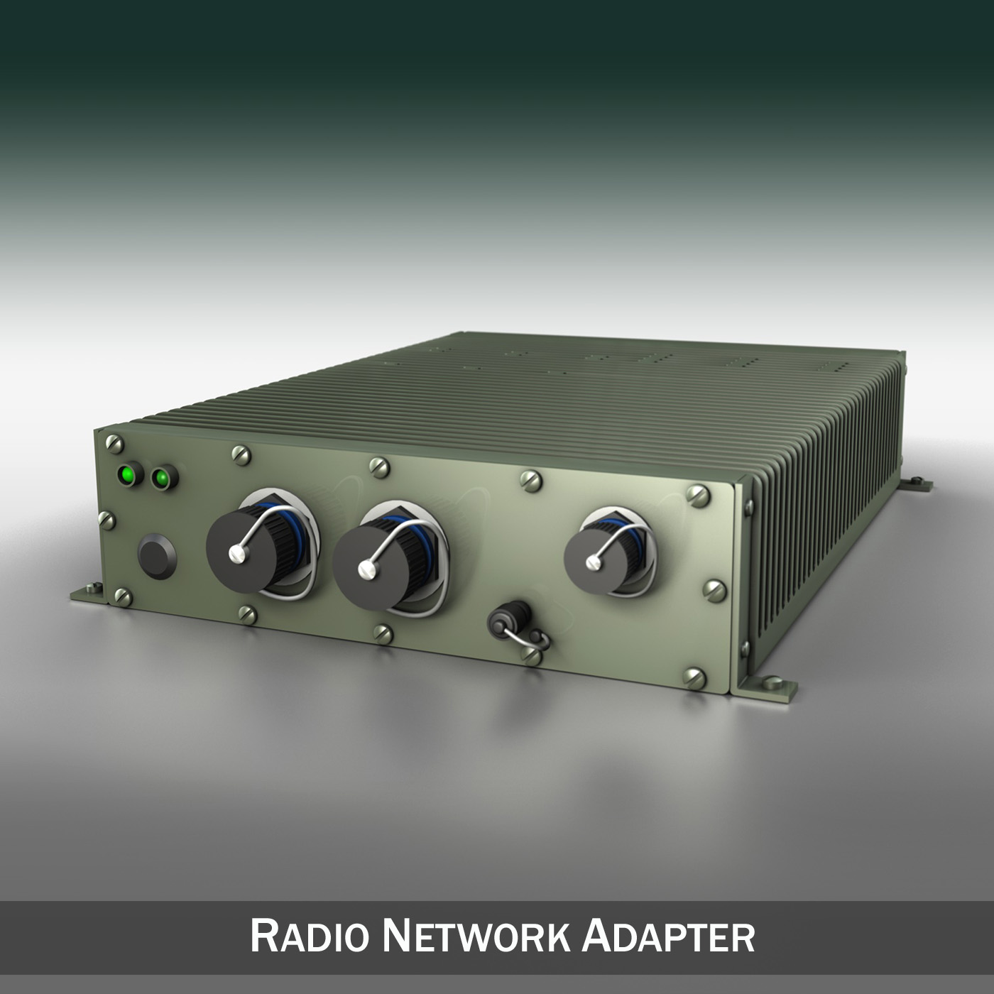 radio network adapter 3d model 3ds fbx c4d lwo obj 189305