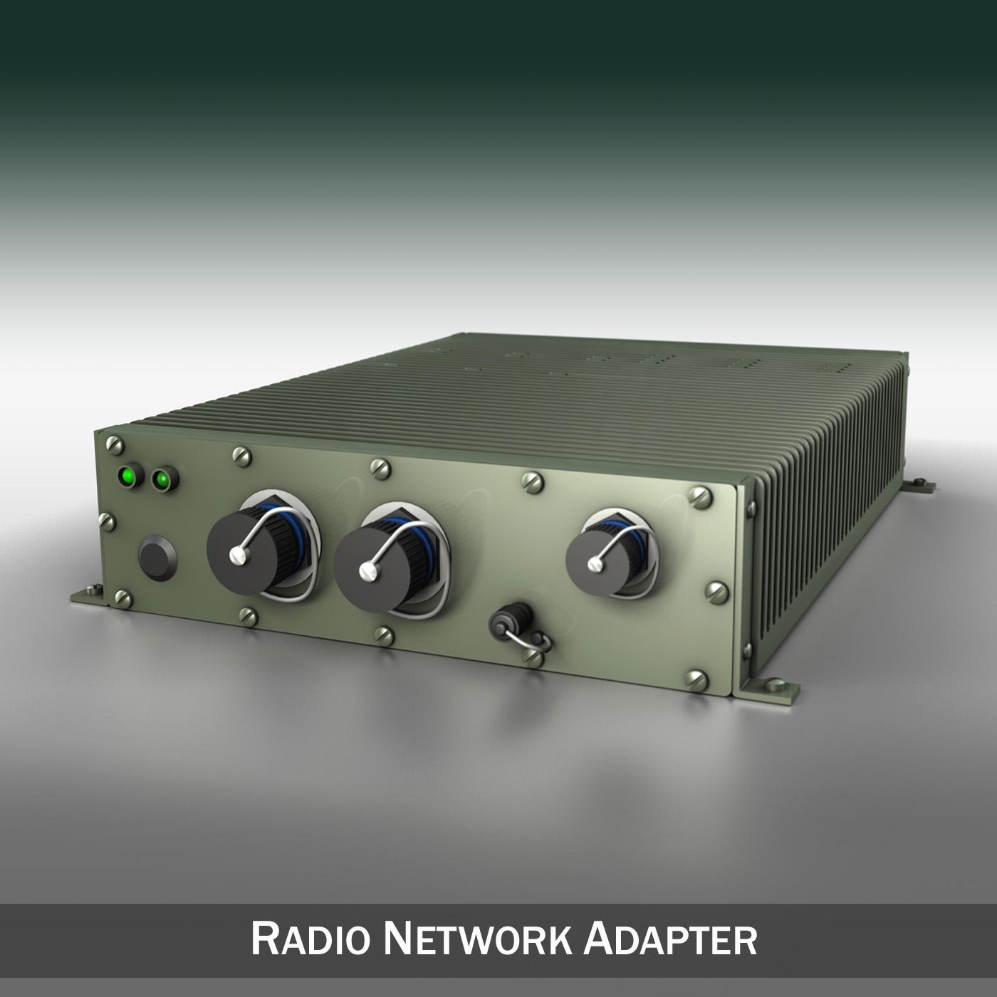 Radio network adapter 3d model 3ds fbx c4d lwo lws lw obj 189305