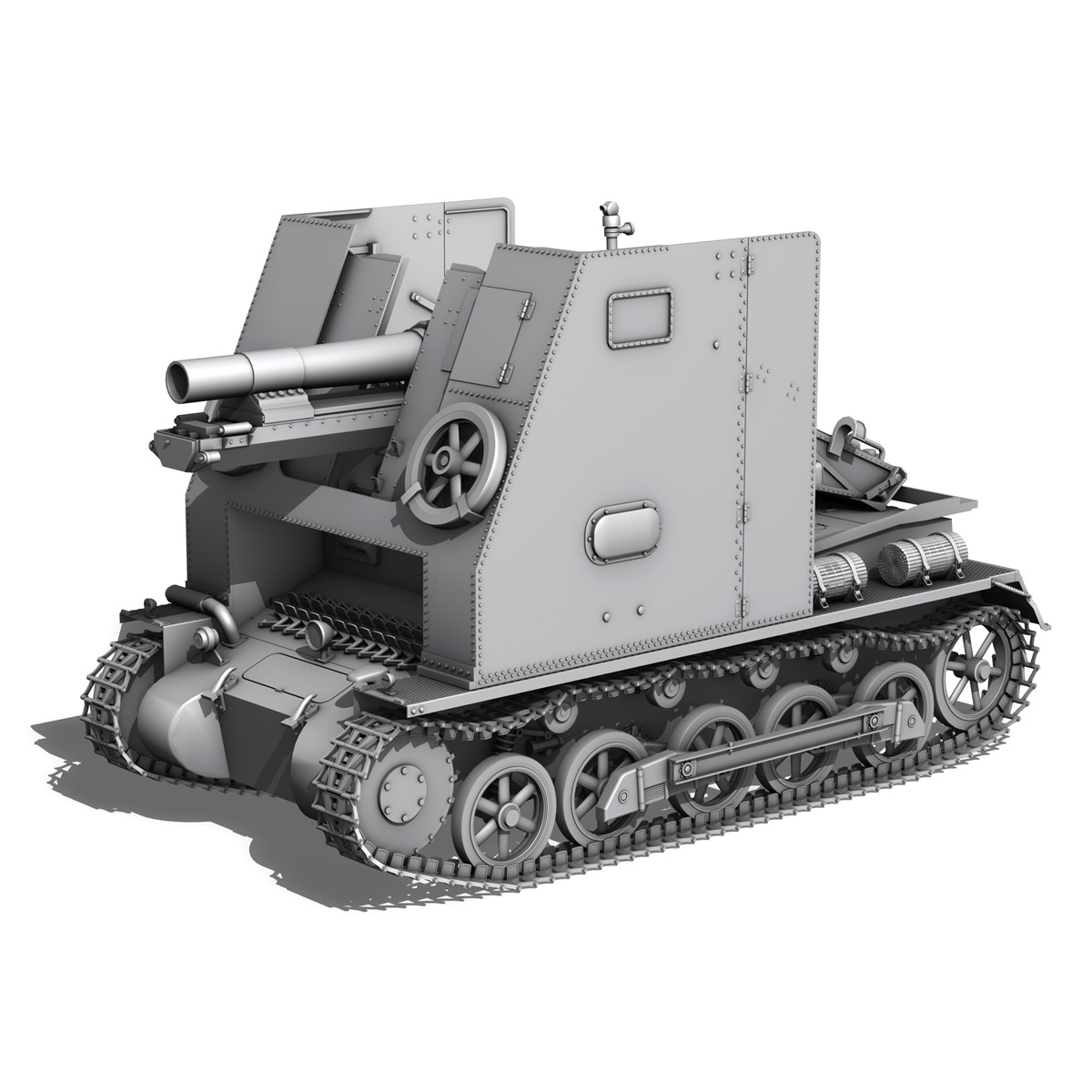 panzerkampfwagen 1 – panzer 1 collection 3d model 3ds fbx c4d lwo obj 189337