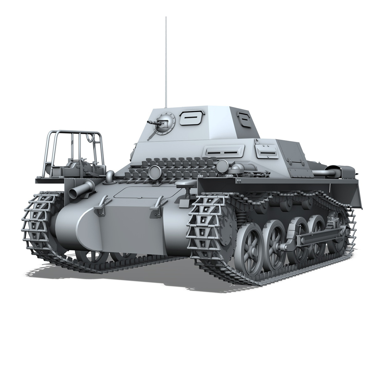 panzerkampfwagen 1 – panzer 1 collection 3d model 3ds fbx c4d lwo obj 189340