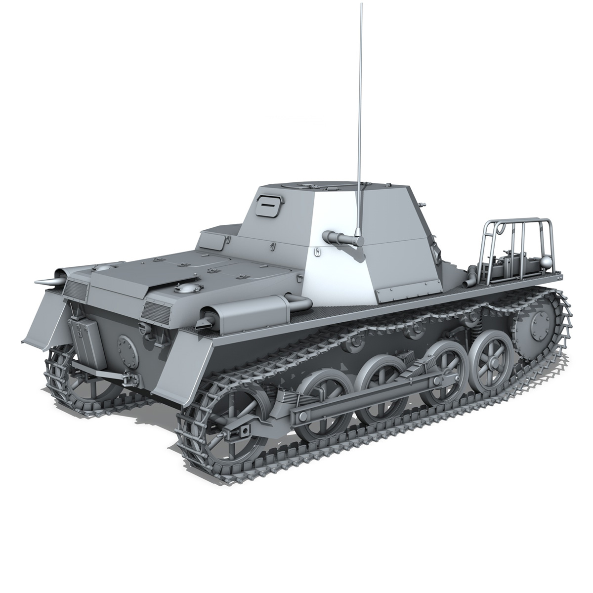 panzerkampfwagen 1 – panzer 1 collection 3d model 3ds fbx c4d lwo obj 189341