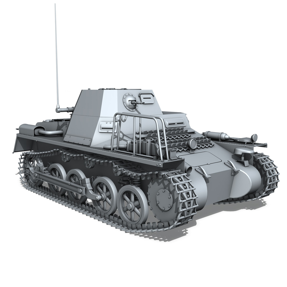 panzerkampfwagen 1 – panzer 1 collection 3d model 3ds fbx c4d lwo obj 189342