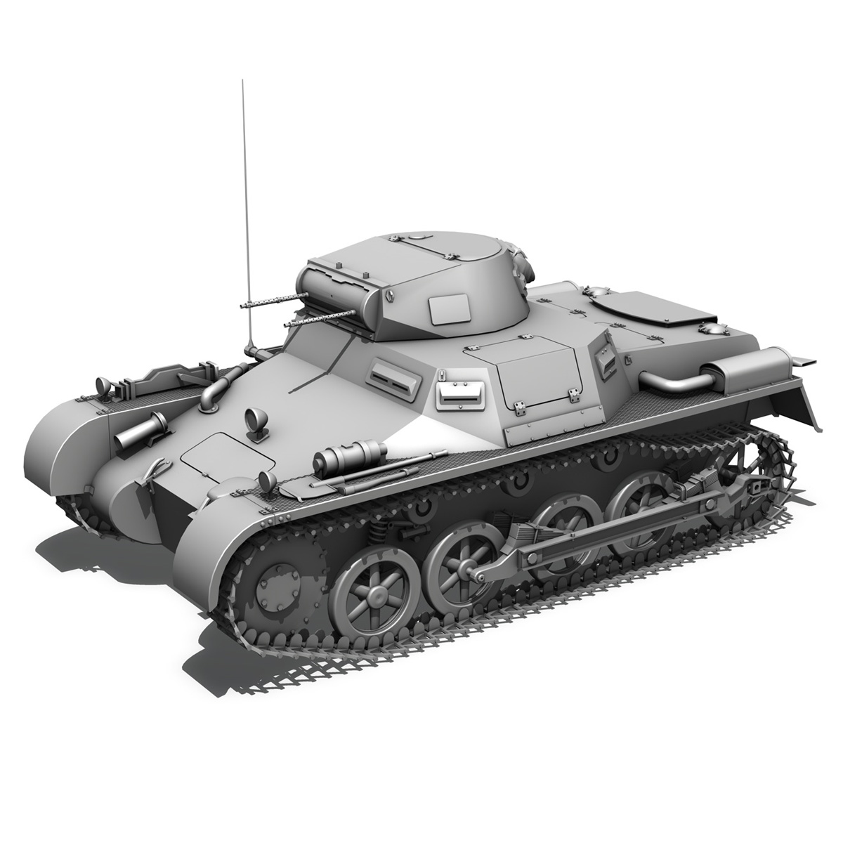 panzerkampfwagen 1 – panzer 1 collection 3d model 3ds fbx c4d lwo obj 189343