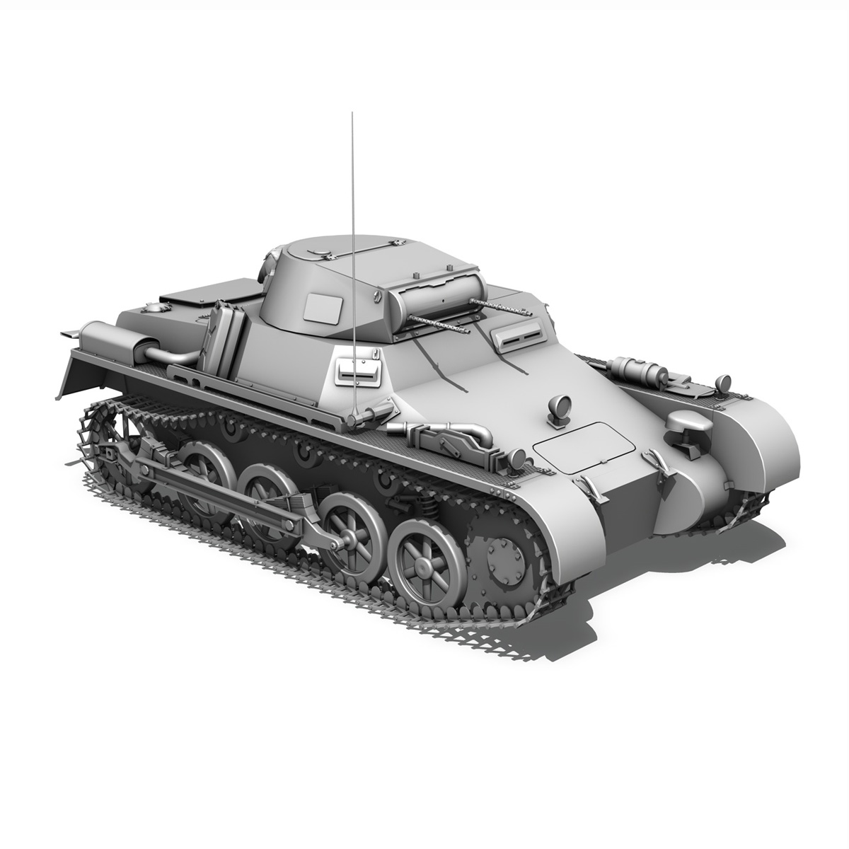panzerkampfwagen 1 – panzer 1 collection 3d model 3ds fbx c4d lwo obj 189345