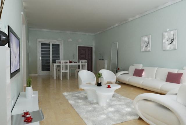 Living room 90 3d model buy living room 90 3d model for Living room 90s